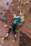Serie A 20 di scalata di roccia di Khole Immagine Stock