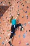 Serie A 22 di scalata di roccia di Khole Fotografie Stock