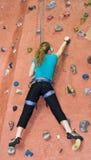 Serie A 25 di scalata di roccia di Khole Fotografia Stock