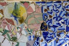 Serie 3, Guell Parc del azulejo Fotografía de archivo libre de regalías