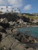 Serie 4 de la bahía de Oneloa imagenes de archivo