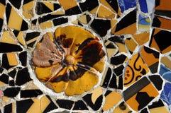Serie 4, Guell Parc del azulejo Fotos de archivo