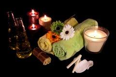 Serie 7 di terapia dell'aroma Fotografia Stock