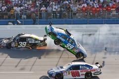 Serie Aarons de la taza de NASCAR Sprint el 26 de abril 499 Fotografía de archivo