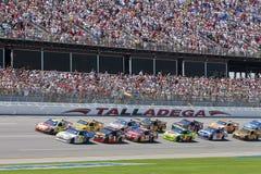 Serie Aarons della tazza di NASCAR Sprint il 26 aprile 499 Immagini Stock Libere da Diritti