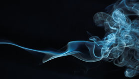 Serie abstracta 04 del humo imagenes de archivo