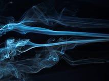 Serie abstracta 12 del humo fotografía de archivo