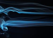 Serie abstracta 14 del humo foto de archivo