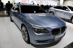 Serie ActiveHybrid del concepto 7 de BMW Fotografía de archivo libre de regalías