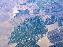 Serie aerea 1 di paesaggio di agricoltura Immagini Stock Libere da Diritti