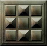 Serie antigua del bloque de cemento (1) Foto de archivo libre de regalías