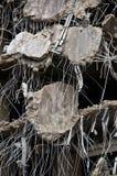 Serie asombrosa de la demolición Foto de archivo