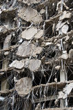 Serie asombrosa de la demolición Fotografía de archivo libre de regalías