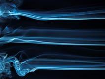 Serie astratta 22 del fumo Fotografie Stock Libere da Diritti