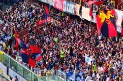 Итальянская футбольная лига Serie Генуя Atalanta стоковое фото rf