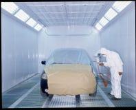 Serie automotora de la pintura Fotografía de archivo libre de regalías