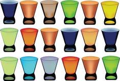 Serie av exponeringsglas Royaltyfria Bilder