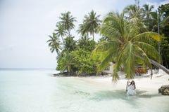 Serie av Maldiverna Fotografering för Bildbyråer