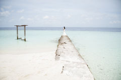 Serie av Maldiverna Arkivbild