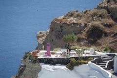 Serie av Santorini Grekland Royaltyfria Foton