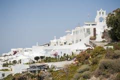 Serie av Santorini Grekland Arkivbilder