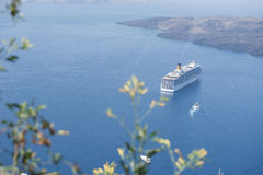 Serie av Santorini Grekland Royaltyfri Bild
