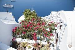 Serie av Santorini Grekland Arkivbild
