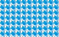 Serie blu del reticolo Fotografie Stock Libere da Diritti