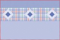 Serie blu del reticolo   Immagine Stock Libera da Diritti