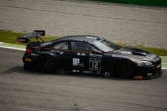 Serie BMW M6 de Blancpain GT que compite con en Monza Fotos de archivo