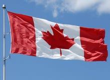 Serie canadese della bandierina Fotografia Stock Libera da Diritti