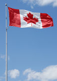 Serie canadese della bandierina Immagini Stock