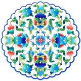 Serie cincuenta y nueve del diseño de los adornos del otomano ilustración del vector