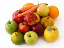 Serie con sabor a fruta de las imágenes del mejor invierno mezclado para los paquetes 2 el embalar y del jugo Foto de archivo