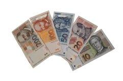 Serie croata del billete de banco de la moneda de Kuna Fotos de archivo libres de regalías
