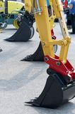 Serie das máquinas escavadoras Fotografia de Stock Royalty Free