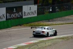 Serie de Blancpain Bentley Continental 2015 en Monza Imagen de archivo