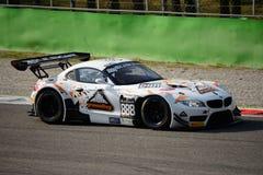 Serie de Blancpain BMW 2015 Z4 GT3 en Monza Foto de archivo