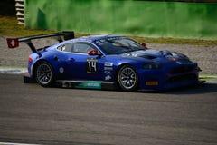 Serie de Blancpain Emil Frey 2015 G3 Jaguar en Monza Imagen de archivo
