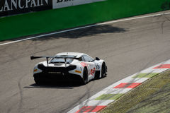 Serie de Blancpain McLaren 2015 650 S GT3 en Monza Fotos de archivo
