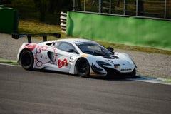 Serie de Blancpain McLaren 2015 650 S GT3 en Monza Imagen de archivo