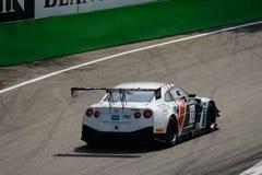 Serie de Blancpain Nissan GT-R 2015 Nismo GT3 en Monza Imagen de archivo
