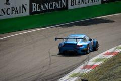 Serie de Blancpain Porsche 2015 997 GT3 R en Monza Fotografía de archivo libre de regalías