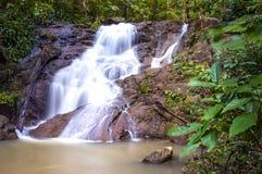Serie de cascadas Fotografía de archivo libre de regalías