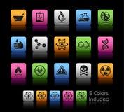 Serie de // Colorbox de la ciencia Foto de archivo