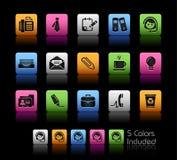 Serie de // Colorbox de la oficina y del asunto libre illustration