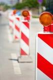 Serie de la construcción de carreteras Imagen de archivo