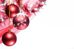 Serie de la decoración de la Navidad Fotografía de archivo