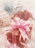 Serie de la decoración de la Navidad Fotos de archivo