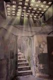 Serie de la escalera Fotografía de archivo